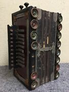 Antique Squeezebox Accordian-makes Noise-may Need Repairs
