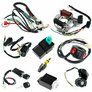 Cdi Wire Harness Stator Assembly Wiring Set For Atv Electric Quad 50 70 90 110cc