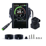 Colorful Display P850c Speedometer With 9-level Assist For Electric Bicycle Kit