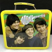 Monkees 1997 Rhino Metal Lunchbox With Cereal Box Jigsaw Puzzle, No Vhs Tape