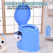 Adult Old Man Portable Toilet Seat Travel Camping Commode Potty Outdoor Indoor