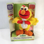 Sesame Street Chicken Dance Elmo Fisher Price Sings Animated Flaps Wings