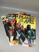 2001 Dark Horse Andlsquoplanet Of The Apesandrsquo 1-6 And 1990 Adventure Comics Book One 7