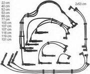 Beru Ze751 / 0300890228 Ignition Wire Set Replaces 964.602.003.00