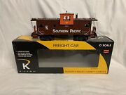 ✅k-line By Lionel Southern Pacific Smoking Caboose For Diesel Steam Engine