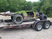 Corvette Rolling Chassis With Drivetrain C2 C3 Rust Free New Brakes
