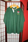 England South West Division Erfsu Rugby Union 15 Game Worn Match Jersey . Aly