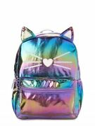 Wonder Nation - Critters Shiny Kitty Backpack Multi Color