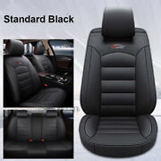 Universal 5-seat Car Pu Leather Seat Cover Front+rear For Honda Accord Civic Crv