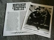 Montgomery Gentry Promotional 8x10 Press Photo And Bio Columbia Records 1999