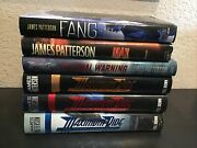 Lot Of 6 James Patterson Maximum Ride Series Hardcovers 1-6 Fang, Max Final