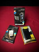 Lot Of 3 Iphone 4+ 4s Lifeproof Cases / 2 New / 1 Incomplete