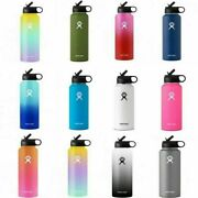 Hydro Flask 32 Oz Water Bottle Stainless Steel And Vacuum Insulated With Straw Lid