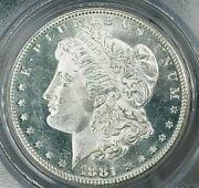 1881 S Morgan Silver Dollar Pcgs Ms65pl Gorgeous Cameo Mirror Clear Fields Wow
