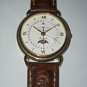 Maurice Lacroix Triple Calendar-moon Phase 18k Case Automatic Overhauled Menand039s