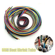 55m Auto Heat Shrink Butt Electrical Wire Crimp Terminal Insulation Tubing Set