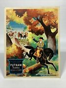 Putnam Dyes The Muir Co Drug Stores Advertising Fan 6 1/4 X 7 1/8 Inches