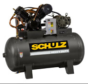 Schulz 7580hv30x-1 7.5-hp 80-gallon Two-stage Air Compressor 932.9347-0