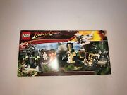 Lego Indiana Jones Temple Escape 7623 Brand New Box Is Damaged, See Pictures