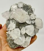 Superb Lustrous Twinned Calcite Crystals San Martin District, Mexico- Classic