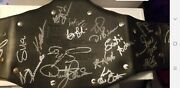 Wwe Autographed Championship John Cena Roddy Piper Dusty Rhodes And Many Others