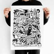 Greg Mike On The Rise Black Signed Print Artist Proof