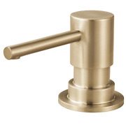 Brizo Solna Deck Mounted Soap Dispenser With 13 Oz Capacity - Luxe Gold