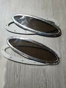 Pair Of Boat Marine Port Side Tinded Windows Fixed 19 1/4 X 6 1/2