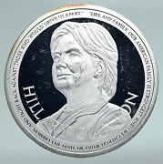 2016 United States Us Candidate Hillary Clinton Fight Proof Silver Medal I90976