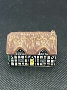 Vintage Porcelain Whimsey On Why Pump Cottage 1 Miniature Wade England 1980