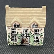 Vintage Whimsey On Why Dr. Healers House 3 Miniature Wade England 1980