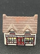 Vintage Whimsey On Why Tobacconist Shop 4 Miniature Wade England 1980