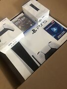 🔥sony Playstation Ps5 Console Disc Version Spider Man Bundle🔥 📦ship Free Fast