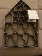 Hearth And Hand Magnolia 2019 Giant Multi-cookie Cutter Sheet Tree House Stars