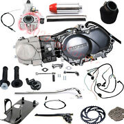 125cc Motor Engine 4 Speed Manual Clutch Pit Dirt Bike Coolster Crf50 Sl70 Ct110
