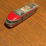 Ichiko Tinplate Limited Express Bullet Train Red