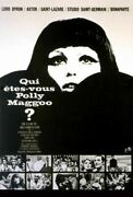 Who Are You, Polly Magoo French 11x17 Movie Poster 1966