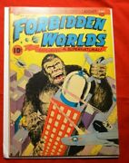 Forbidden Worlds 6 Kong Cover Not 1952 American Comics Group Classic Cover