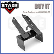For 98-13 Harley Road Glide Front Fairing Radio Caddy Mount Bracket Replacement