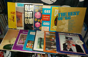 Oldies Lot Of 13 Lp Records Various Artists America The Beautiful Free Shipping