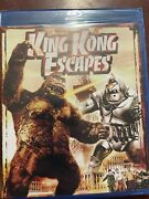 King Kong Escapes Blu Ray. Brand New Rare And Oop