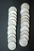 Roll Of Gem Bu Morgan Silver Dollars Mixed Dates And Mints Very Nice Coins