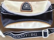Vintage La Costa Spa California Hotel Rare Vintage White And Blue Used Fanny Pack