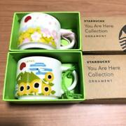 Starbucks Mug Set You Are Here Collection Ornament Size Spring Summer New