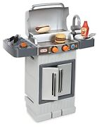 Little Tikes Cook And039n Grow Bbq Grill With Cooking Accessories And Play Food Kid Toy