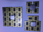 Lot Of 31 Mix Intel G540 G530 G620 Cpuand039s Lga1155 Dotted Gold Pd Recovery Scrap