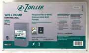 New Zoeller 1hp 230v Well Pump Control Box 1010-2338 Submersible Potable Water