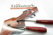 135 Gunstock Carving Patterns And Ramelson/ullman 2 Line 18lpi Checkering 90 Pull