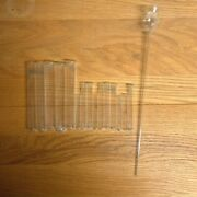 Vintage Pyrex Chemistry Glass Test Tubes Lot Of 15 Pieces