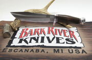 Bark River Knives Special Hunting Knife - Ht, Cru-wear, Aged Stacked Leather